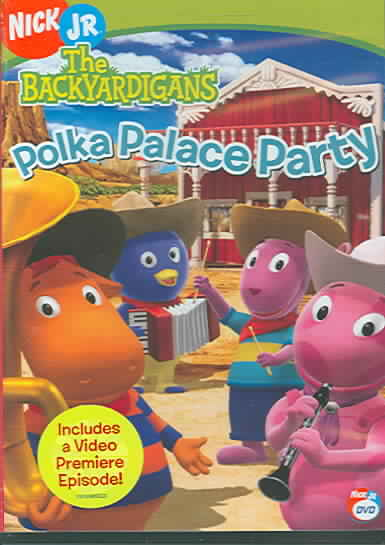 BACKYARDIGANS:POLKA PALACE PARTY BY BACKYARDIGANS (DVD)